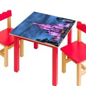 Disney Castle For Kids Laminated Vinyl Cover Self-Adhesive for Desk and Tables