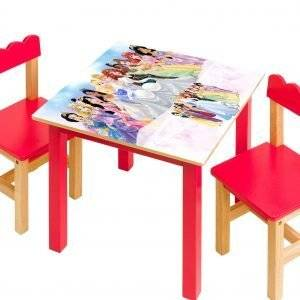 Disney Princesses Kids Laminated Vinyl Cover Self-Adhesive for Desk and Tables