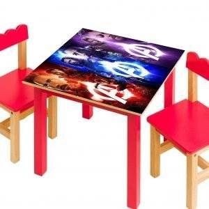 Avengers Fantasy Laminated Vinyl Cover Self-Adhesive for Desk and Tables
