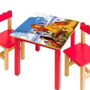 Lion King Simba's Pride Laminated Vinyl Cover Self-Adhesive for Desk and Tables