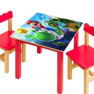 Super Mario For Kids Laminated Vinyl Cover Self-Adhesive for Desk and Tables