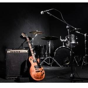 Musical Equipment Laminated Vinyl Cover Self-Adhesive for Desk and Tables