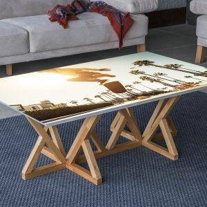 Skateboard Jump Laminated Vinyl Cover Self-Adhesive for Desk and Tables