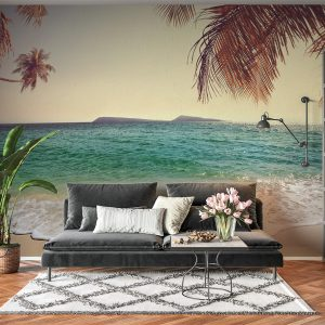 Relaxing Beach & Sea View Wall Mural Photo Wallpaper UV Print Decal Art Décor