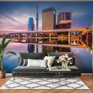 Amazing City View Landscape Wall Mural Photo Wallpaper UV Print Decal Art Décor