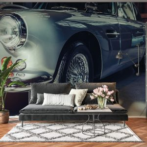 Vintage Car View Look Wall Mural Photo Wallpaper UV Print Decal Art Décor