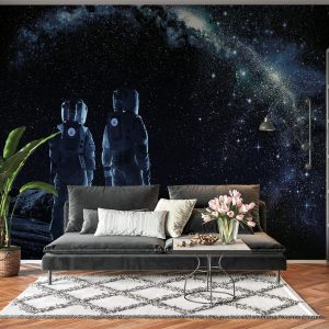 Astronaut in Space Wall Mural Photo Wallpaper UV Print Decal Art Décor
