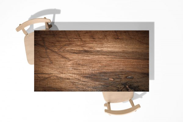Old Wood Texture Laminated Self Adhesive Vinyl Table Desk Art Décor Cover