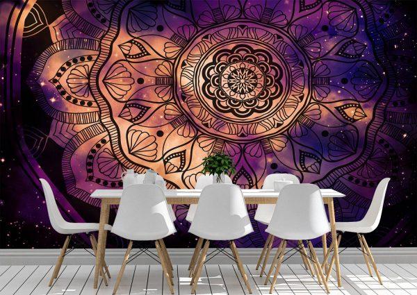 Abstract ancient geometric Wall Mural Photo Wallpaper UV Print Decal Art Décor