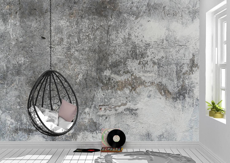 3D concrete effect Wall Mural Photo Wallpaper UV Print Decal Art Décor