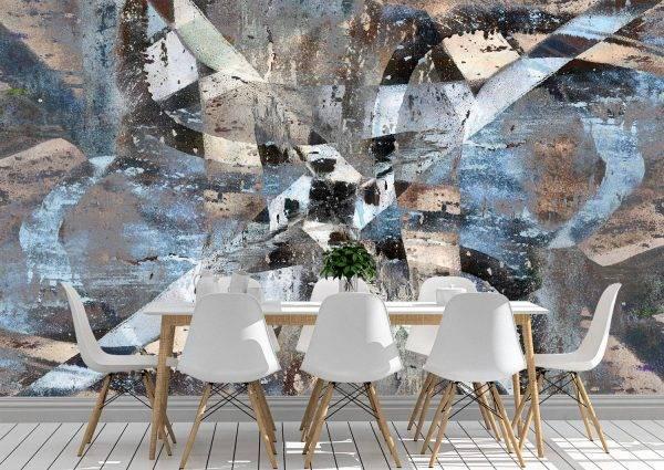 Abstract graffiti background Wall Mural Photo Wallpaper UV Print Decal Art Décor