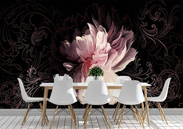 Vintage bouquet of roses Wall Mural Photo Wallpaper UV Print Decal Art Décor