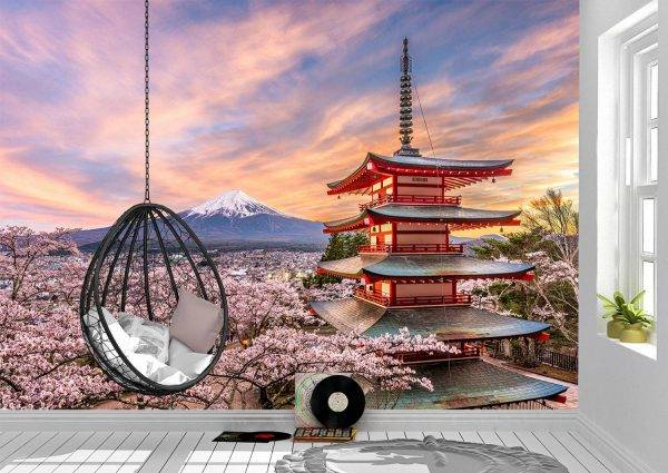 Cherry Blossoms in China Wall Mural Photo Wallpaper