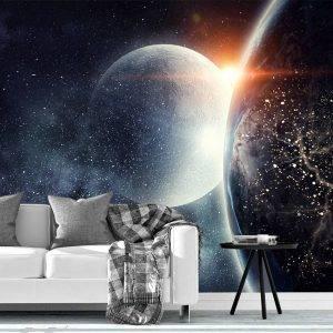 Astronomy Solar System Wall Mural Photo Wallpaper UV Print Decal Art Décor