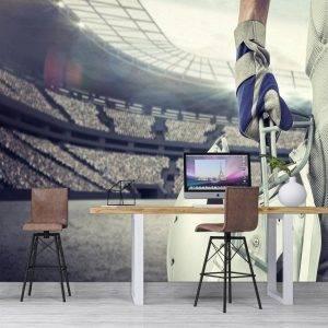 American Football Player Wall Mural Photo Wallpaper UV Print Decal Art Décor