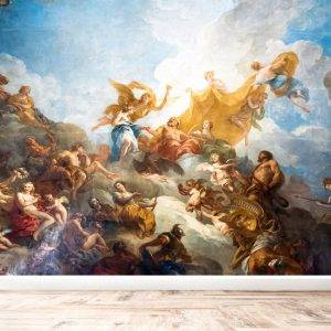 Ceiling painting in Hercules Room Wall Mural Wallpaper UV Print Decal Art Décor