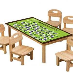 Butterfly Game For Kids Laminated Self Adhesive Vinyl Table Desk Art Décor Cover